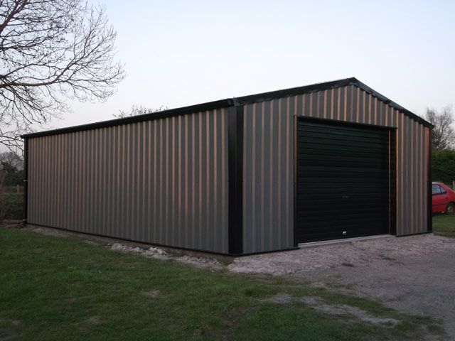 steel sheds and garages northern ireland uk - Garden Sheds Ni