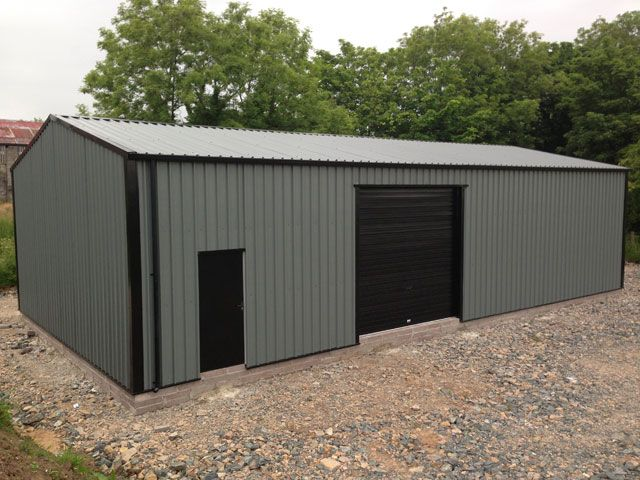 Gallery steel sheds garages and steel buildings for Aluminum sheds for sale