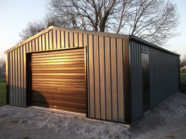quick guide steel buildings sheds and garages. Black Bedroom Furniture Sets. Home Design Ideas